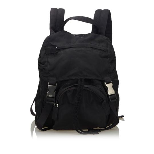 Preload https://img-static.tradesy.com/item/26167339/prada-fabric-italy-black-nylon-backpack-0-0-540-540.jpg