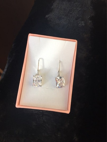 Other Stunning statement luxury 8 Carat VVS1 lab created diamond Solid 925 Sterling Silver Earrings Image 3