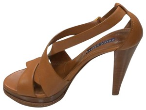 Ralph Lauren Collection tan Platforms