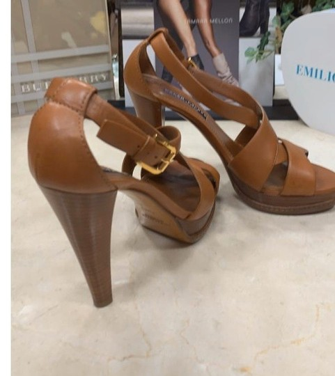 Ralph Lauren Collection tan Platforms Image 10