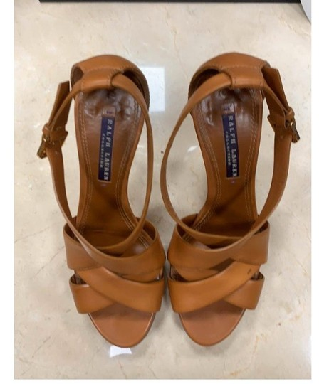 Ralph Lauren Collection tan Platforms Image 2