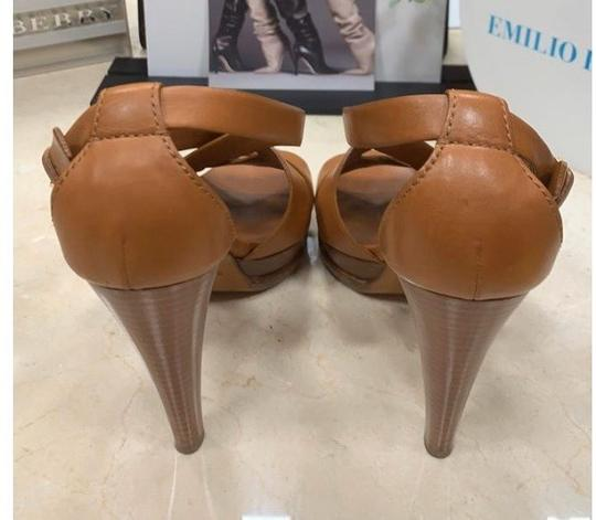 Ralph Lauren Collection tan Platforms Image 3