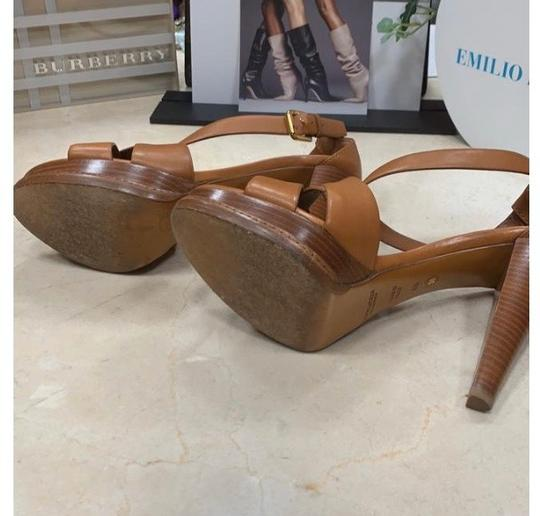 Ralph Lauren Collection tan Platforms Image 4