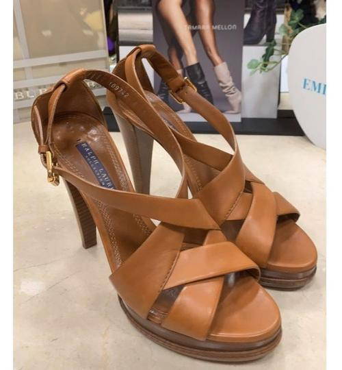 Ralph Lauren Collection tan Platforms Image 6
