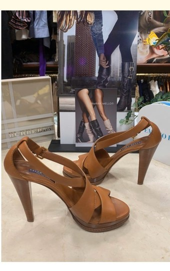 Ralph Lauren Collection tan Platforms Image 8