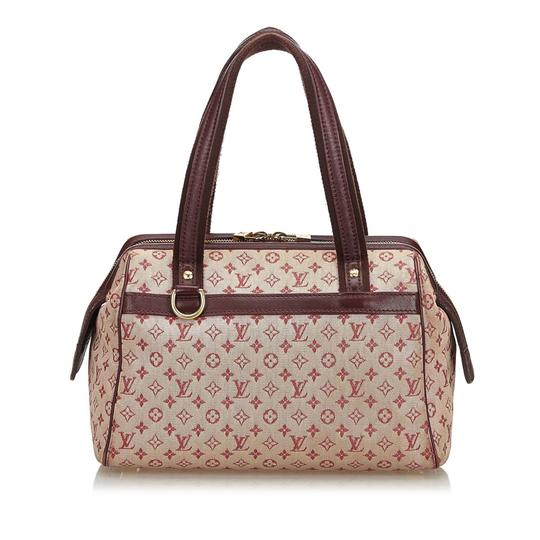 Preload https://img-static.tradesy.com/item/26167371/louis-vuitton-josephine-with-red-cotton-fabric-france-small-brown-leather-shoulder-bag-0-0-540-540.jpg