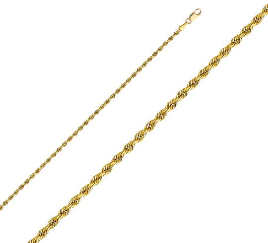 Preload https://img-static.tradesy.com/item/26167382/yellow-14k-25mm-solid-rope-cut-chain-18-necklace-0-1-540-540.jpg