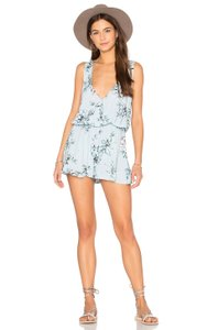 Show Me Your Mumu Floral Sleeveless Elastic Keyhole Dress