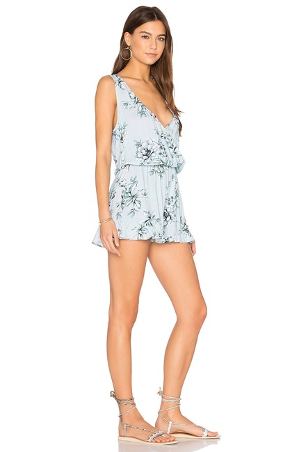 Show Me Your Mumu Floral Sleeveless Elastic Keyhole Dress Image 1