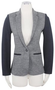 J.Crew Color-blocking Career Professional Collection Work Grey Black Blazer