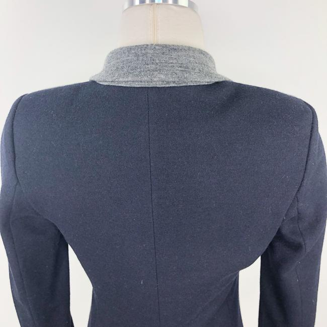 J.Crew Color-blocking Career Professional Collection Work Grey Black Blazer Image 5