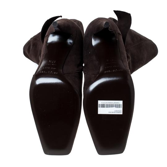 Sergio Rossi Suede Brown Boots Image 6