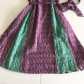Anthropologie short dress green purple on Tradesy Image 6