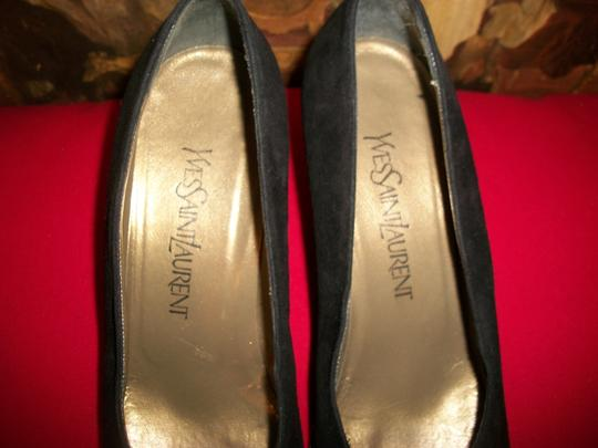 Yves Saint Laurent YSL Vintage black Pumps Image 5