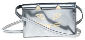 Charlotte Olympia Patent Leather Leather Shoulder Bag