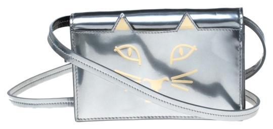 Preload https://img-static.tradesy.com/item/26167463/charlotte-olympia-crossbody-feline-silver-patent-leather-shoulder-bag-0-1-540-540.jpg