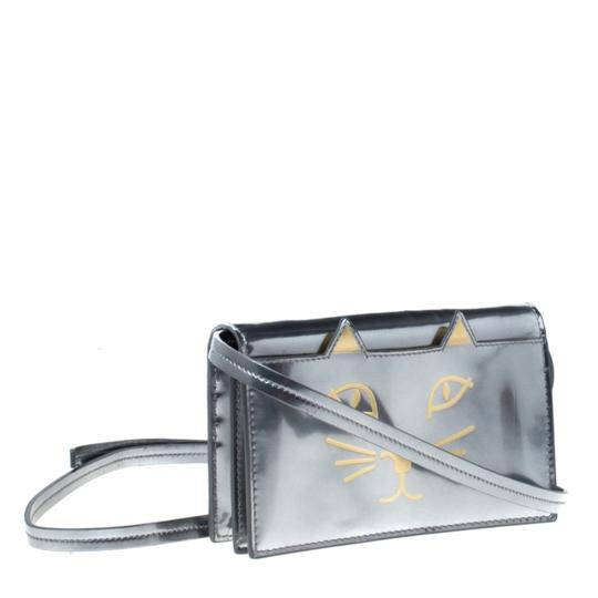 Charlotte Olympia Patent Leather Leather Shoulder Bag Image 3