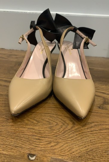 Kate Spade nude and black Pumps Image 1