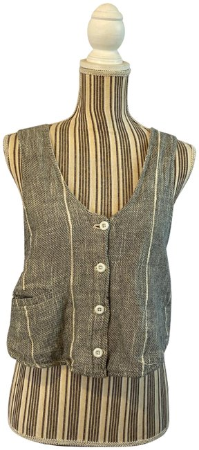 Preload https://img-static.tradesy.com/item/26167589/free-people-gray-button-down-and-cream-sp-vest-size-4-s-0-1-650-650.jpg
