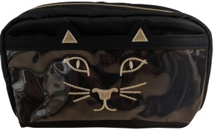 Charlotte Olympia Cat face make up bag