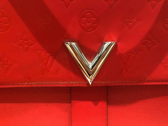 Louis Vuitton Navy/brown/red Clutch Image 5