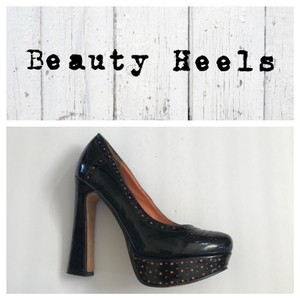 Beauty Heel Black Platforms