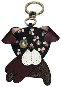 Kate Spade Kate Spade New York Puppy Key Chain Ring Fob Charm WORU0297 Cherrywood