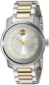 Movado Two Tone Stainless Steel Bold 3600245 Watch