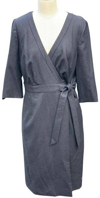 Item - Charcoal Gray Short Work/Office Dress Size 12 (L)
