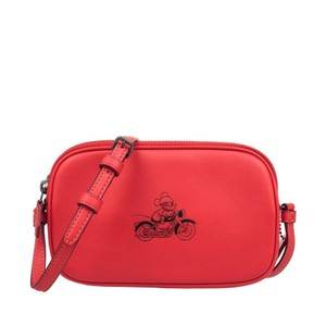 COACH Disney Mickey F59072 Qbbrd Cross Body Bag