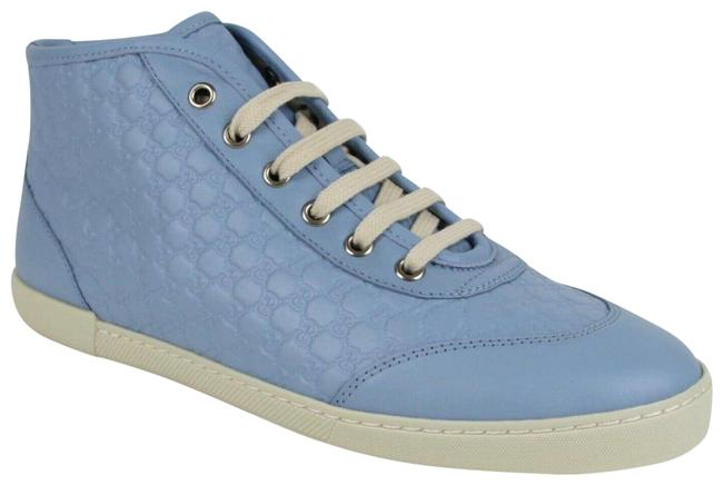 Item - Mineral Blue ssima Leather Hi-top 40.5 G/Us 391499 4503 Sneakers Size US 11 Regular (M, B)