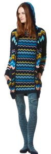 Missoni for Target Sweater Hoodie Chevron Cardigan