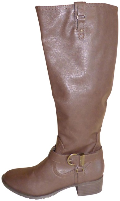 Item - Brown Intense Women's Synthetic Riding Boots/Booties Size US 5.5 Regular (M, B)