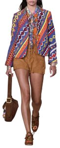 Tory Burch Brown, Multi Color Boots