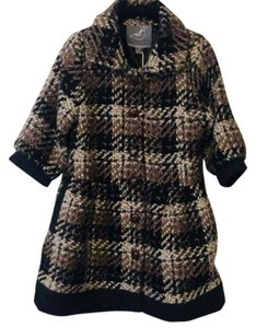 Knitted Dove Tweed Pea Coat