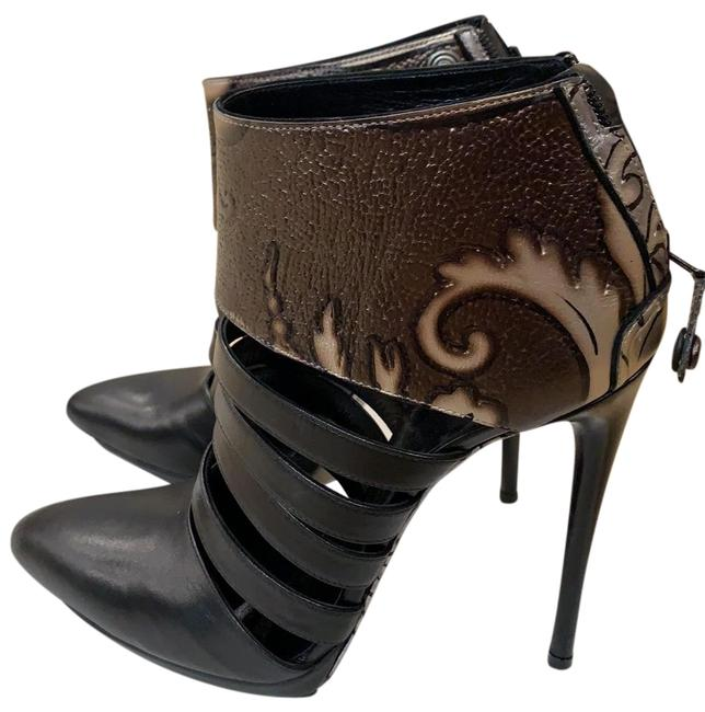 Item - Black Super High Stiletto Strapped Boots/Booties Size US 8 Regular (M, B)