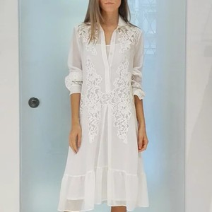 White Maxi Dress by Blumarine