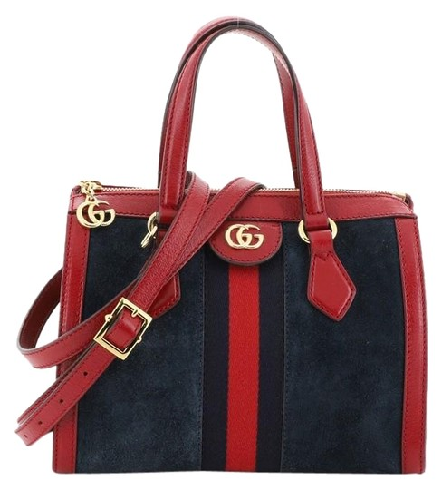 Preload https://img-static.tradesy.com/item/26173725/gucci-ophidia-top-handle-bag-small-blue-suede-tote-0-2-540-540.jpg