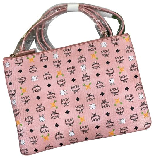 Preload https://img-static.tradesy.com/item/26173748/mcm-bunny-pouch-purse-pink-coated-canvas-cross-body-bag-0-2-540-540.jpg