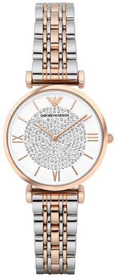 Preload https://img-static.tradesy.com/item/26173785/emporio-armani-rose-goldsilver-two-tone-stainless-steel-women-s-ar1926-watch-0-2-540-540.jpg