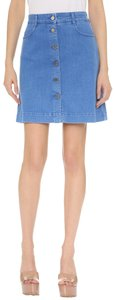 Stella McCartney Alexa Chung Goop Marc Jacobs Anine Bing Jenni Kayne Mini Skirt Ultra Blue Denim