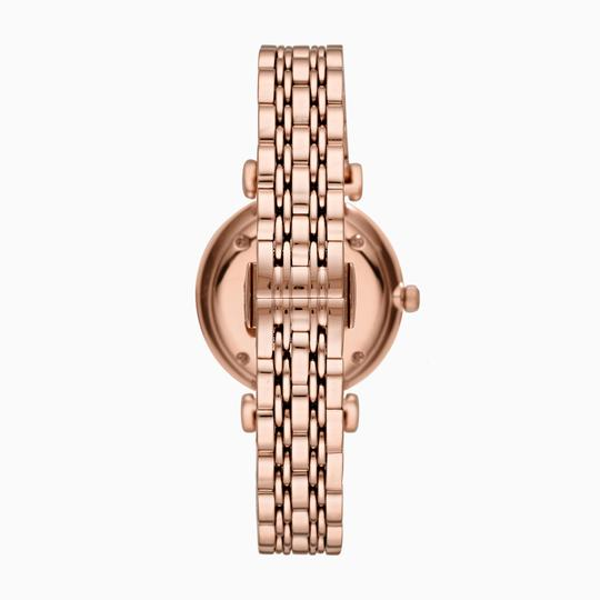 Emporio Armani Emporio Armani Rose Gold Stainless Steel Women's Watch AR11244 Image 2