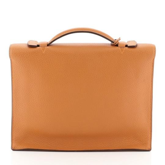 Hermès orange Travel Bag Image 2