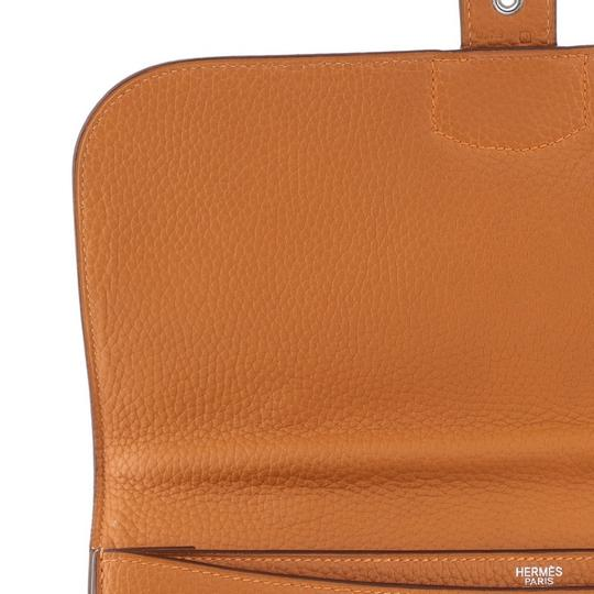 Hermès orange Travel Bag Image 9