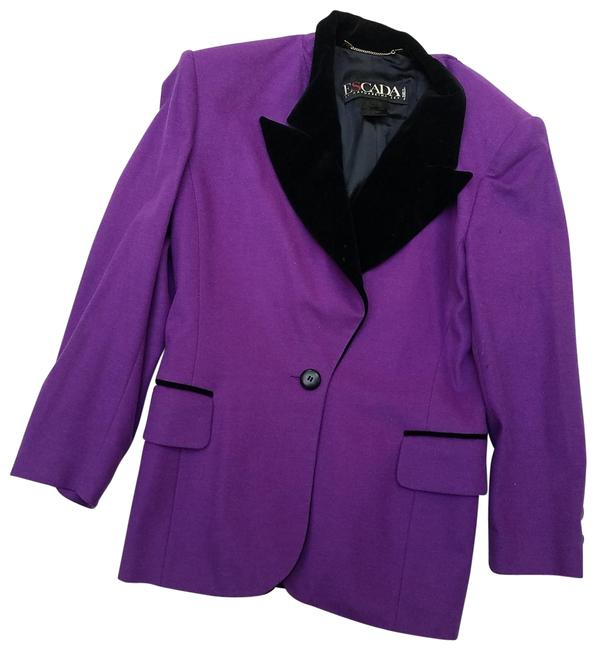 Item - Purple Wool Vintage Blazer Size 10 (M)