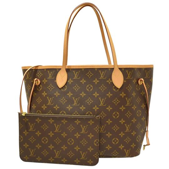 Preload https://img-static.tradesy.com/item/26173998/louis-vuitton-neverfull-new-mm-monogram-with-pouch-and-beige-lining-brown-canvas-tote-0-0-540-540.jpg