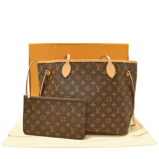 Louis Vuitton Neverfull Luxury Monogram Limited Edition European Tote in brown Image 2