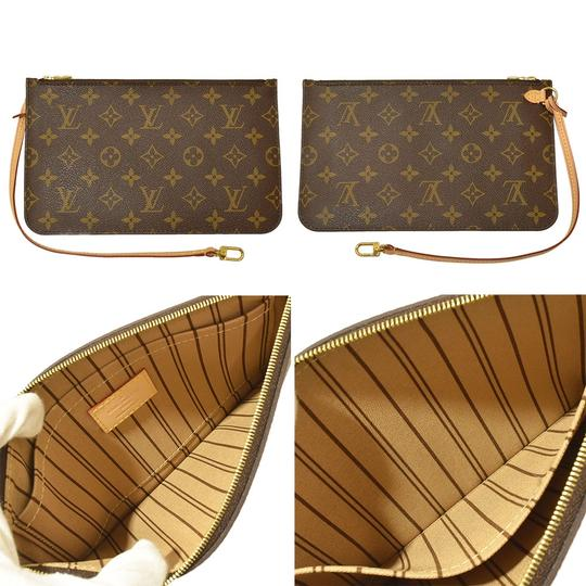 Louis Vuitton Neverfull Luxury Monogram Limited Edition European Tote in brown Image 5