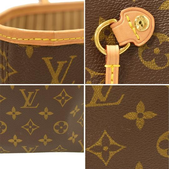 Louis Vuitton Neverfull Luxury Monogram Limited Edition European Tote in brown Image 6