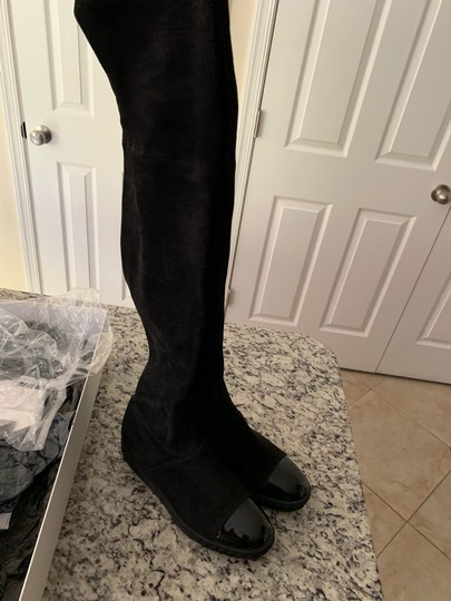 Casadei over the Knee Boots Black Boots Image 1